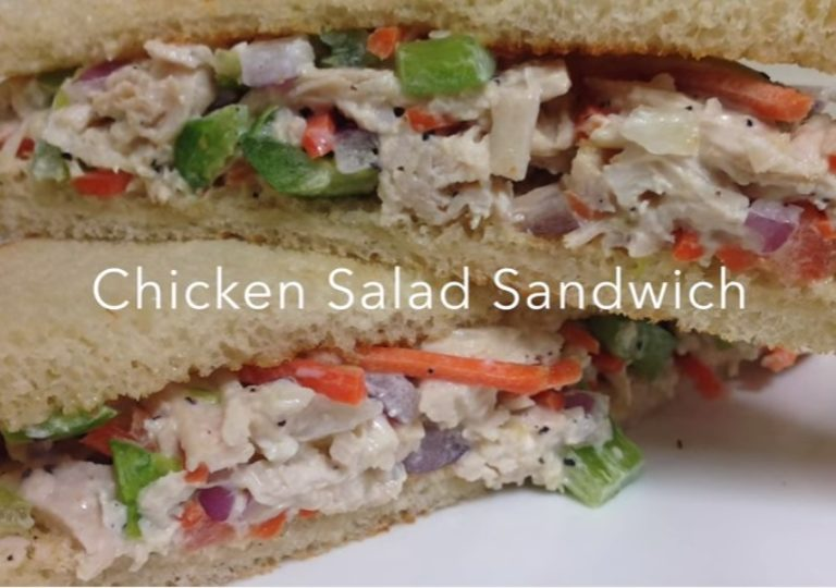 Chicken Salad Sandwich Recipe | Anup Kitchen