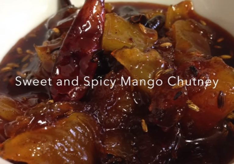 Sweet and Spicy Mango Chutney | Nepali Food Recipe