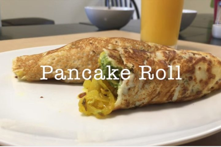 Pancake Roll (with Asian flavor) | Anup Kitchen